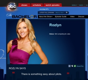 "Rozlyn, Formerly of ABC's ""The Bachelor"""