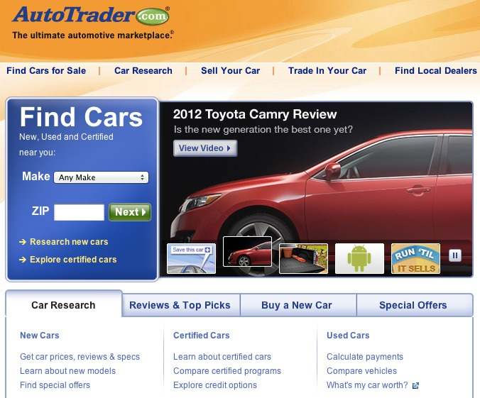 Best Online Used Car Shopping