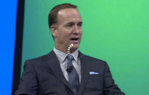 NFL quarterback Peyton Manning explains to the IBM Pulse 2013 audience in Las Vegas the importance of effective decision making in football and in life.