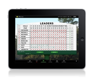 "This year's Masters iPad application not only nicely mimics the real deal in Augusta...it also has a sort feature where you can look at leaders according to several categories, including ""active players,"" ""past champions,"" ""amateur players,"" and even ""first time participants."""